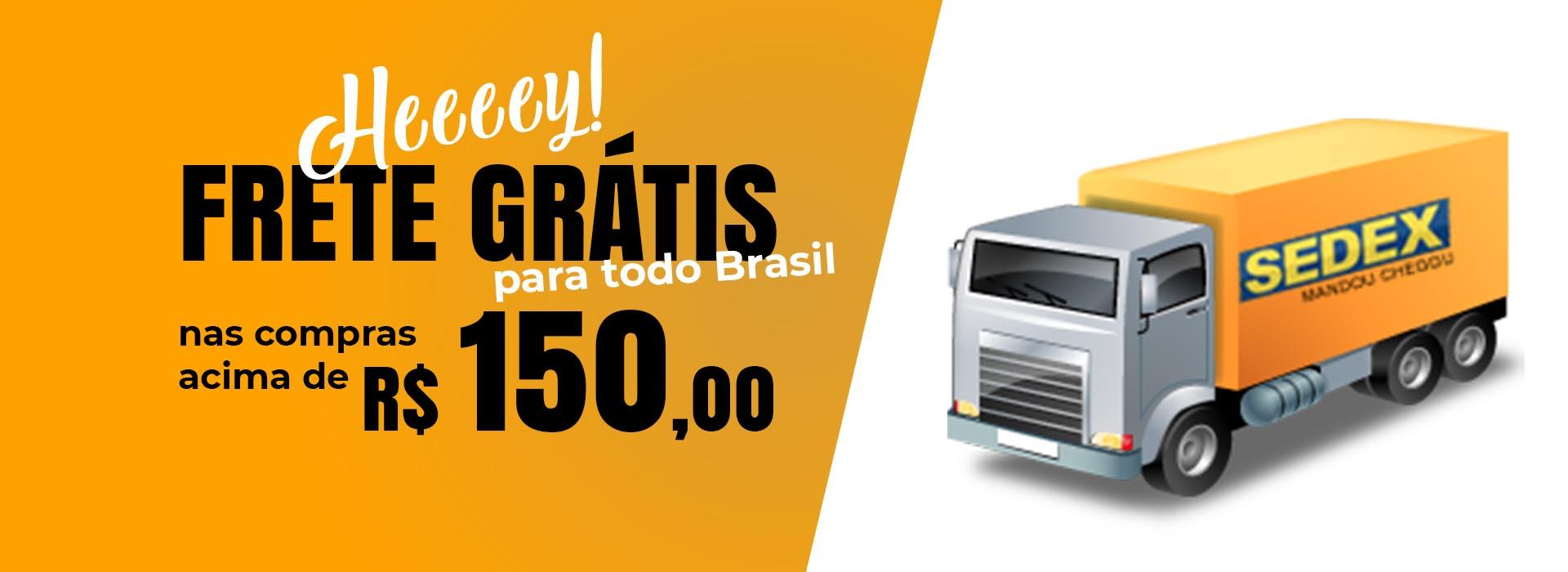 Entrega gratis 150 reais