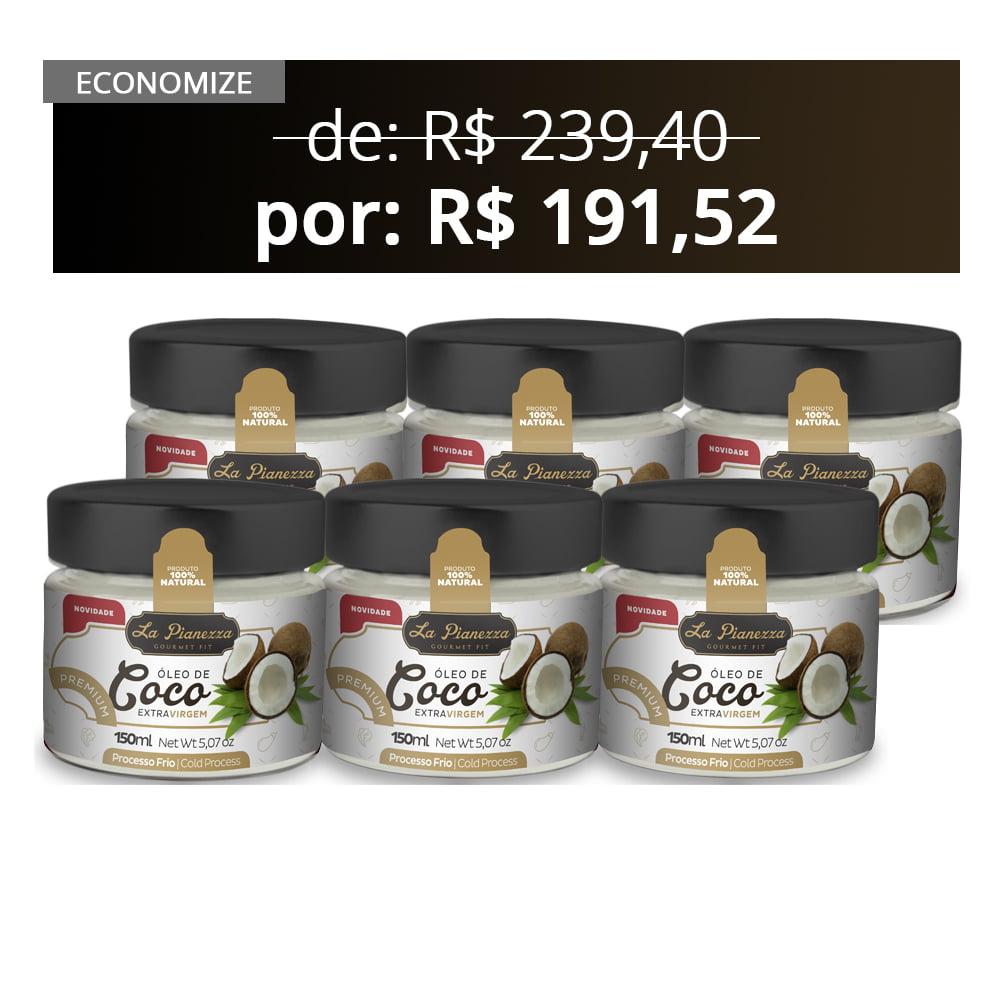 6X Combo Óleo de Coco